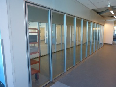 Cool Room 22 glass insert doors 2