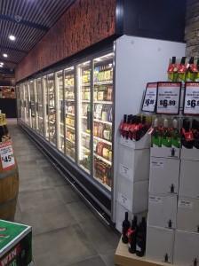 Arneg Cabinet in bottle shop