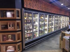 Arneg Cabinet in bottle shop 2