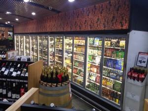 Arneg Cabinet in bottle shop 5