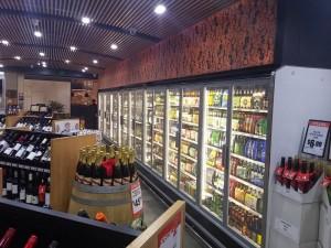 Arneg Cabinet in bottle shop 6