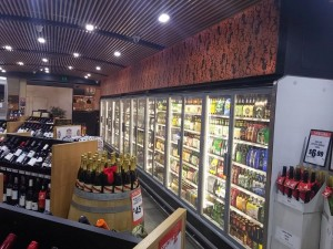 Arneg Cabinet in bottle shop 7