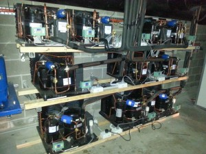 Condensing Units Setup for all commercial refrigeration