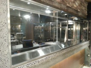 Salami display