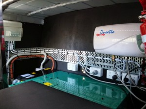Coffee van Cummins 8KVA Generator - Hot Water System and Electrical System