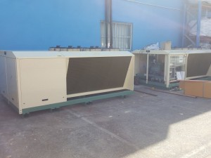 Bitzer condensing unit for freezer room 2