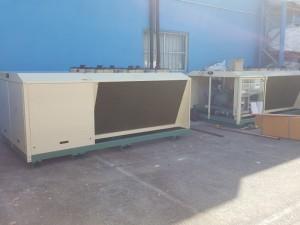 Bitzer condensing unit for freezer room 2