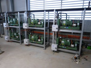 Bitzer water cooled condensing units