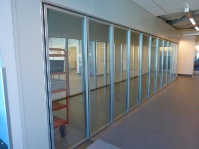 Cool Room 22 glass insert doors 2