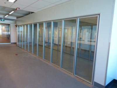 Cool Room 22 glass insert doors 3