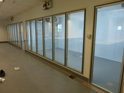 Cool Room and Freezer Room glass insert doors