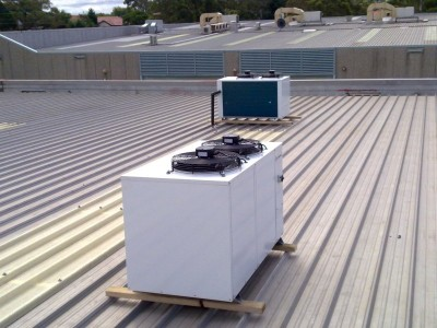 Cool room condensing units with duty and stand by setup
