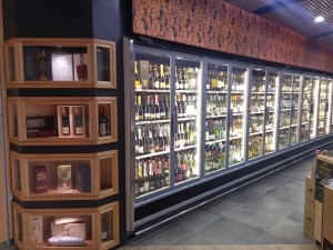 Arneg Cabinet in bottle shop 3