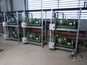 Bitzer Condensing Units with Duty and Standby units setup