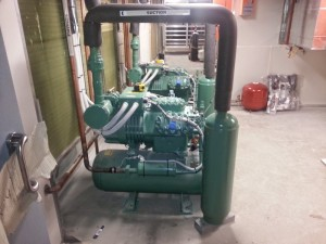 Bitzer Setup for Airconditioning