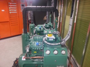 Bitzer Setup for Airconditioning Chiller System 2