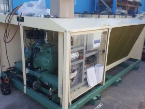 Bitzer condensing unit for freezer room