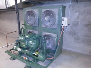 Bitzer freezer condnensing unit